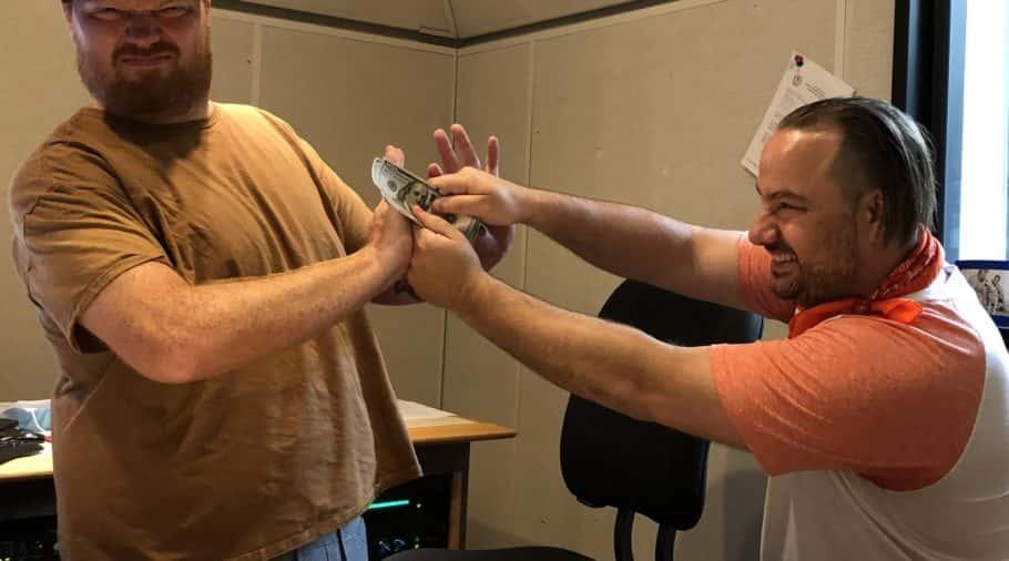 Producer Nick Calls Jason's Bluff