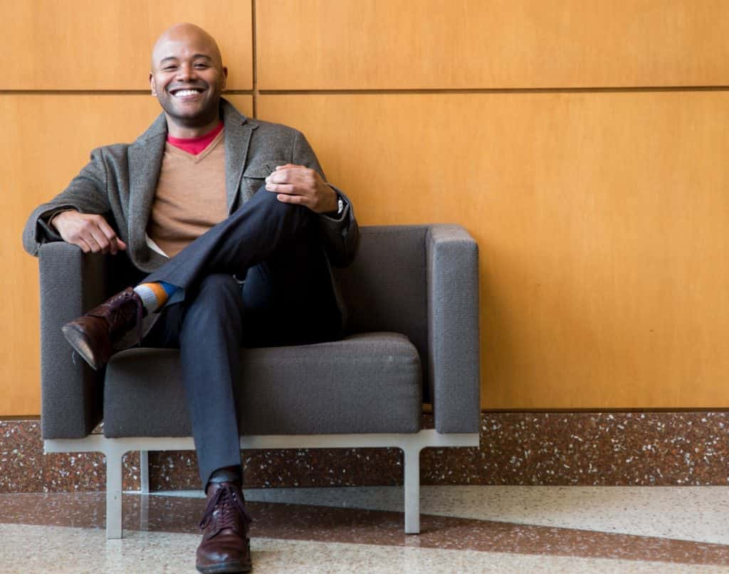 Dr Peniel Joseph, Professor of Public Affairs at the University of Texas