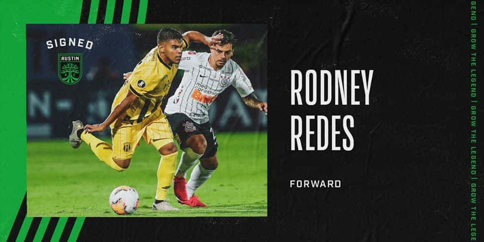 Austin FC Adds First Player! Forward Rodney Redes