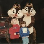 Katy-her-brother-at-Disney