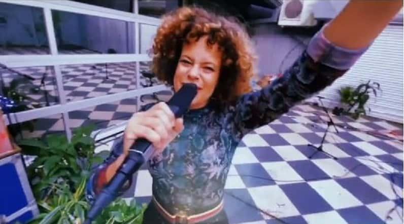 Régine Chassagne of arcade fire
