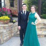 Katy and her prom date John