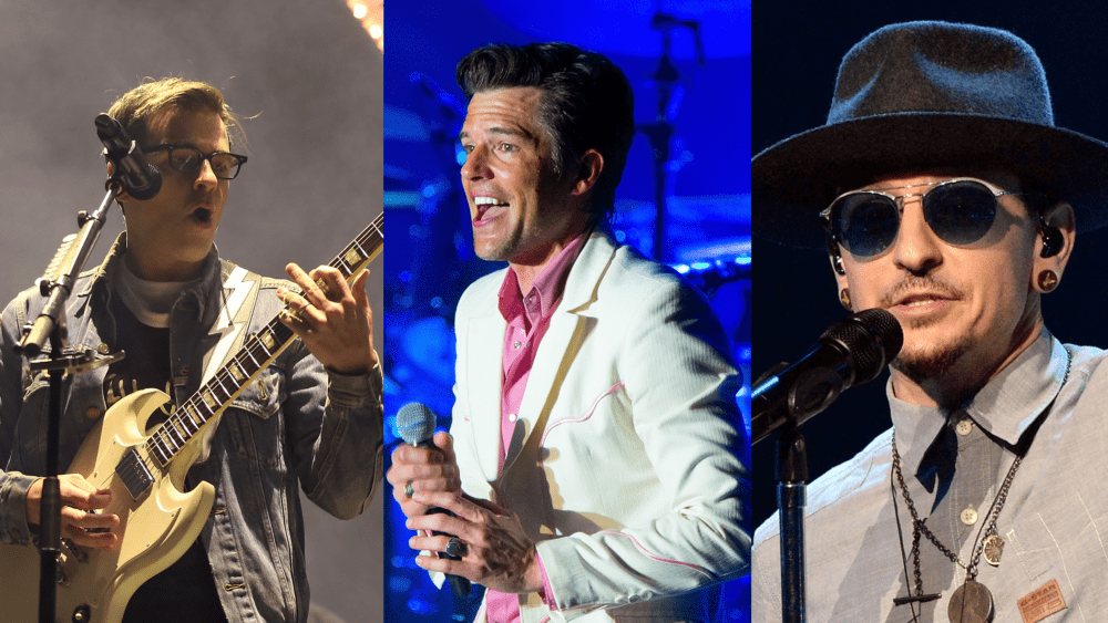 New Music Friday ft. Weezer, The Killers, Linkin Park, and More