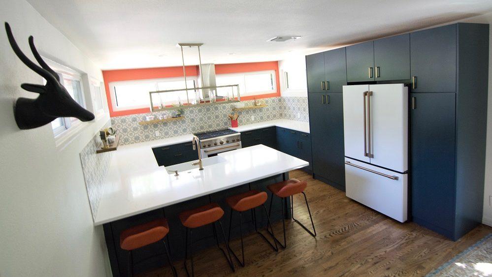 deb's remodeled kitchen