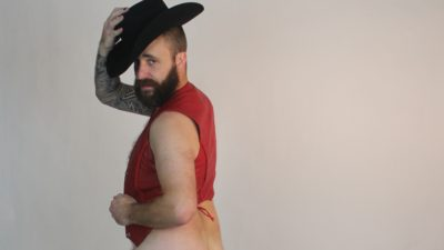 cj morgan cowboy nude