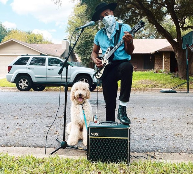 mobley and his dog