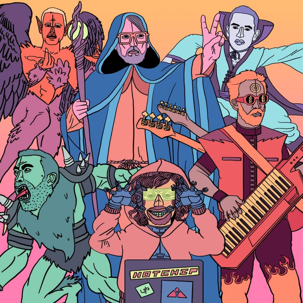 """Hot Chip - """"Straight To The Morning"""""""