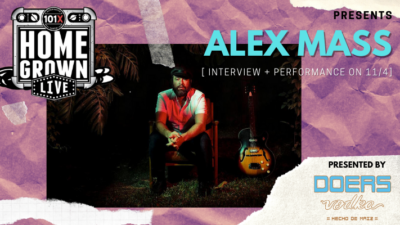 Homegrown Live Presents Alex Mass Presented by Doers Vodka