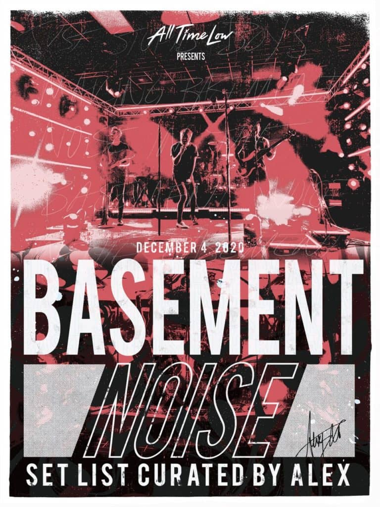 basement noise setlist curated by Alex