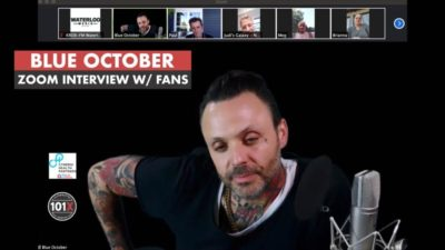 Justin Blue October Zoom