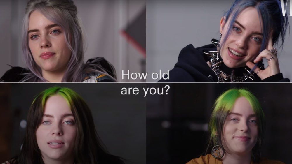 Watch Billie Eilish's Time Capsule Interview: Year Four