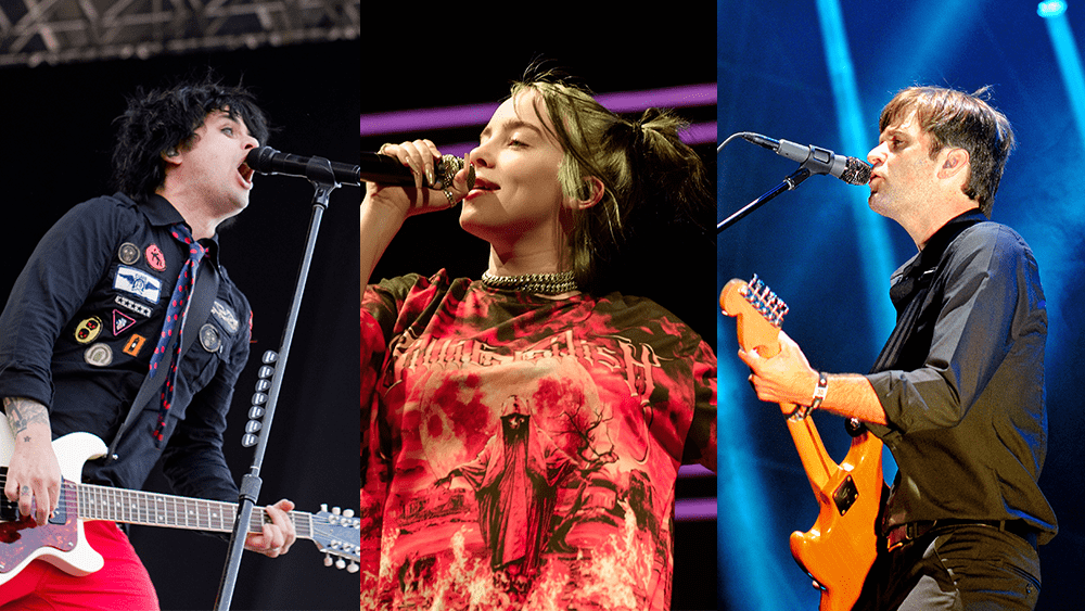 New Music Friday ft. Green Day's The Network, Billie Eilish, Death Cab for Cutie, and More
