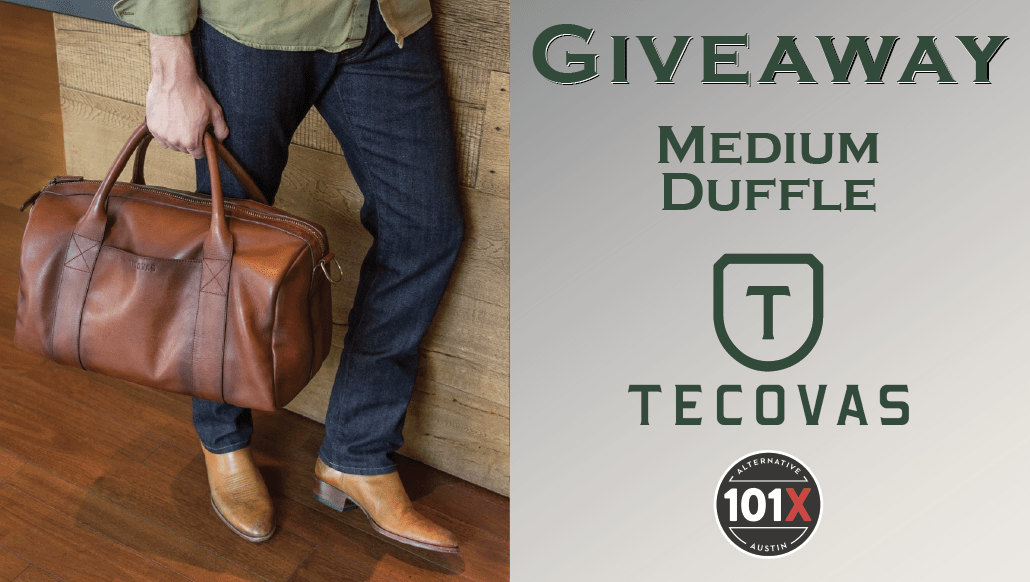 Giveaway Medium Duffle Tecovas 101x Contest