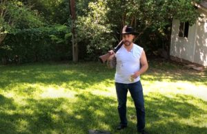 cj morgan with a gun