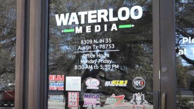 waterloo media sign