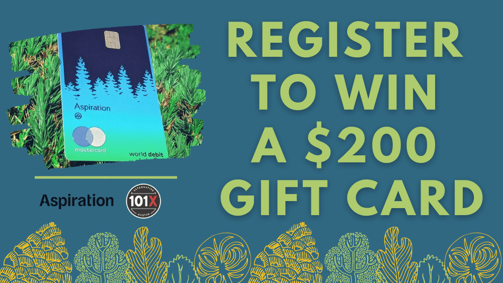 Register to win a $200 Gift Card
