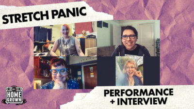 stretch panic interview and performance