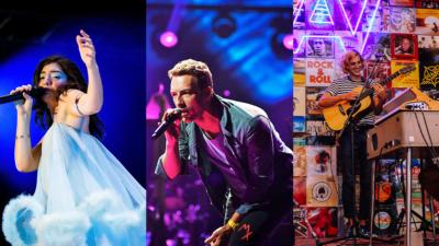 Lorde, Coldplay, Half Alive
