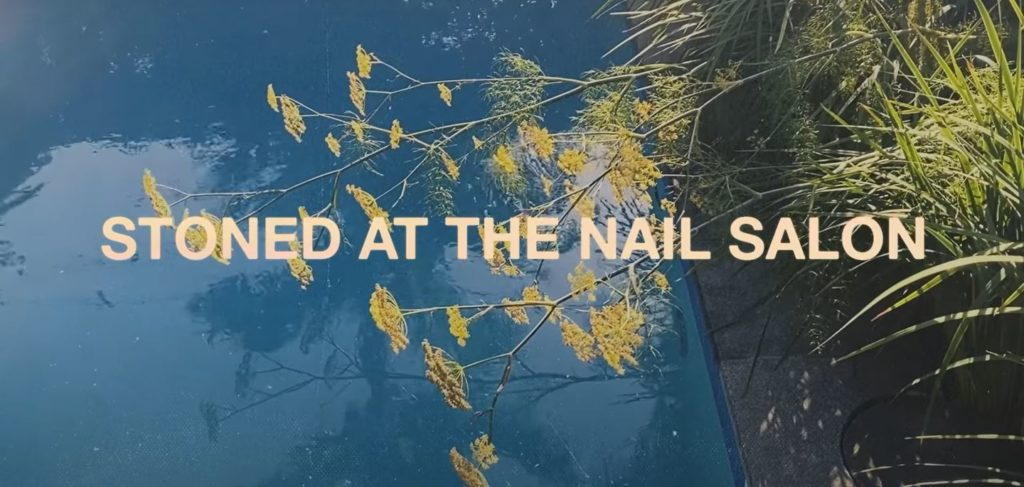 Stone at the nail salon- lorde