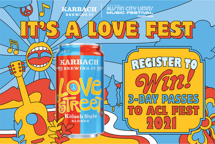 love street contest acl fest wristbands