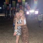 Emily and her friend on Weekend 2