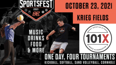101x and sportsfest poster