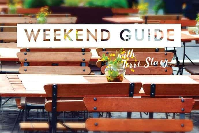 Outdoor patio, Weekend Guide with Terri Stacy