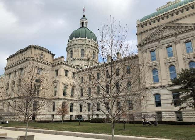 Indiana's state house