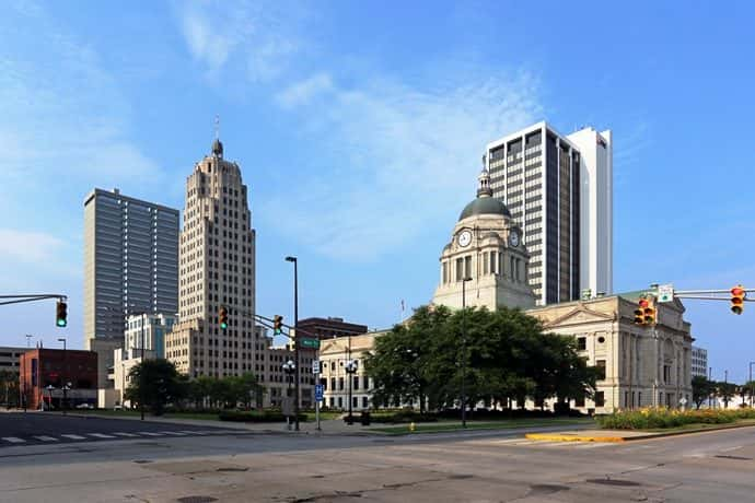 A picture of the city of Fort Wayne. (Photo by iStock/Getty/Welles Enterprises)