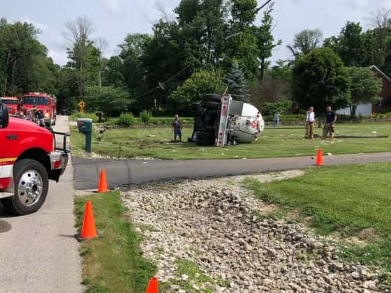 Accident in Connersville (PHOTO: Indiana State Police)