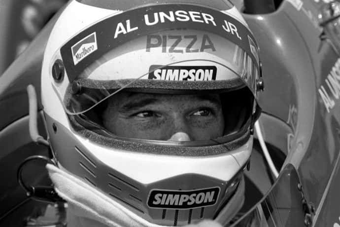 Al Unser Jr. 1986 Indy 500 Winner