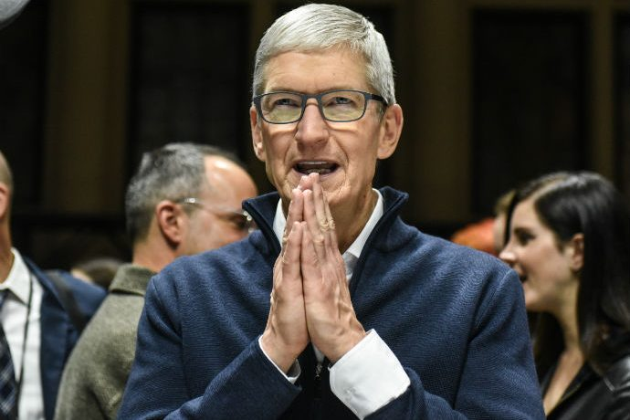 Apple CEO Tim Cook at Launch Event