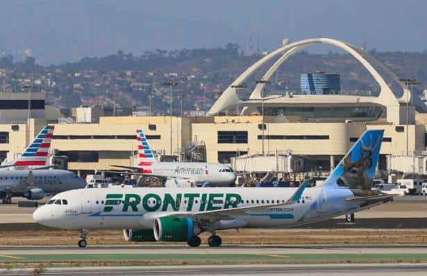 Frontier Airlines planes on tarmac (FG Bauer-Griffin/Getty)