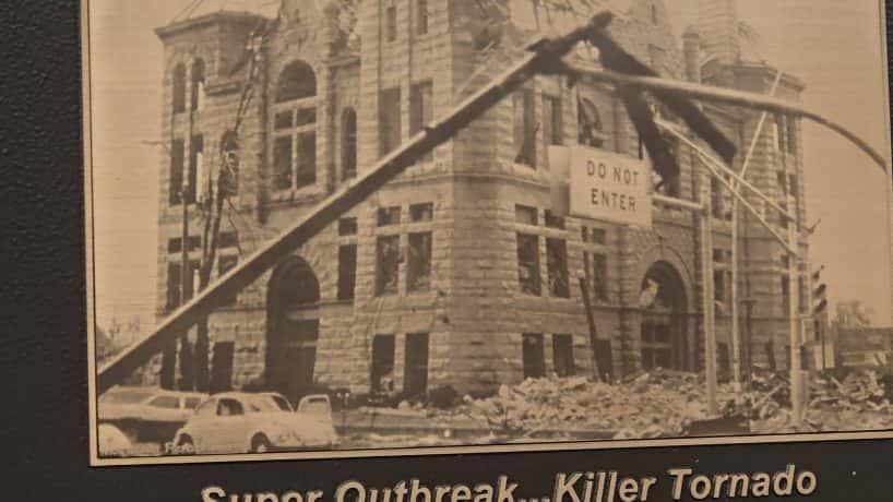 Monticello tornado