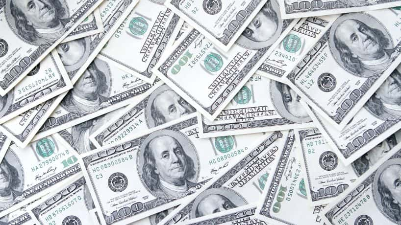 Money Pile. Thinkstock