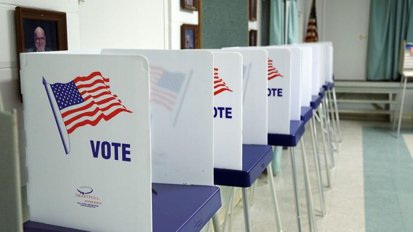 Voting booths. Getty Images