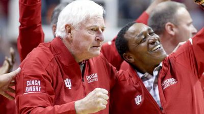 Bob Knight's return to Assembly Hall was too many years too late