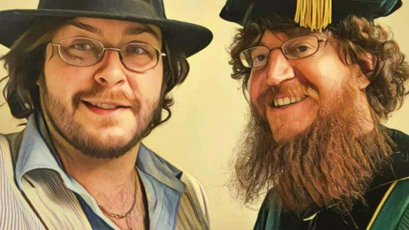 Ethan Hatcher and Dr. David Root