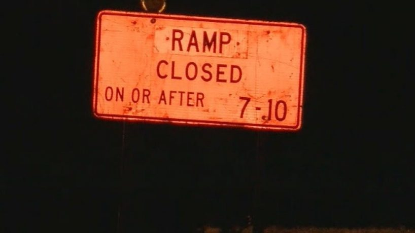 Ramps Closed 38th