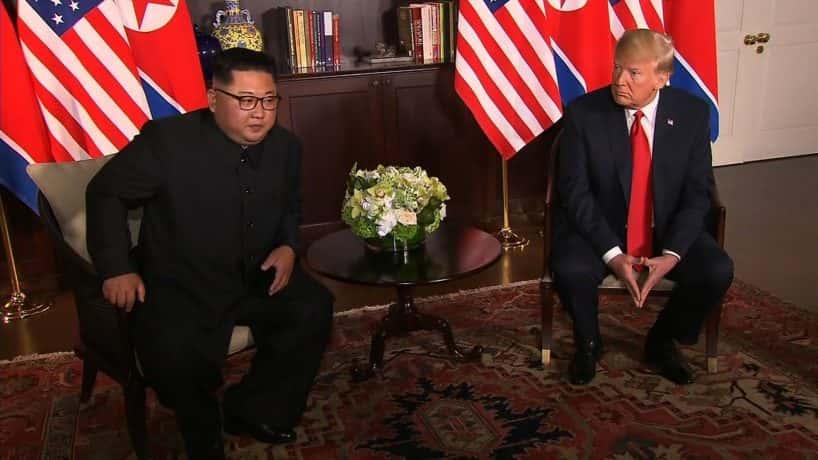 Key Moments from the Trump-Kim Summit (PHOTO: POOL)