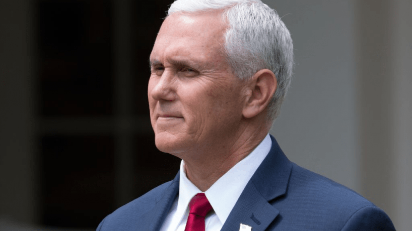 A photo of Vice President Mike Pence