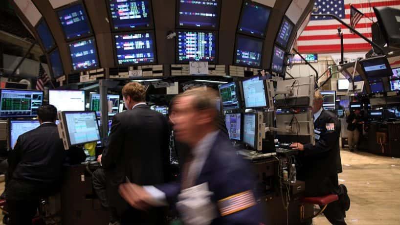 NYSE floor. Spencer Platt. Getty