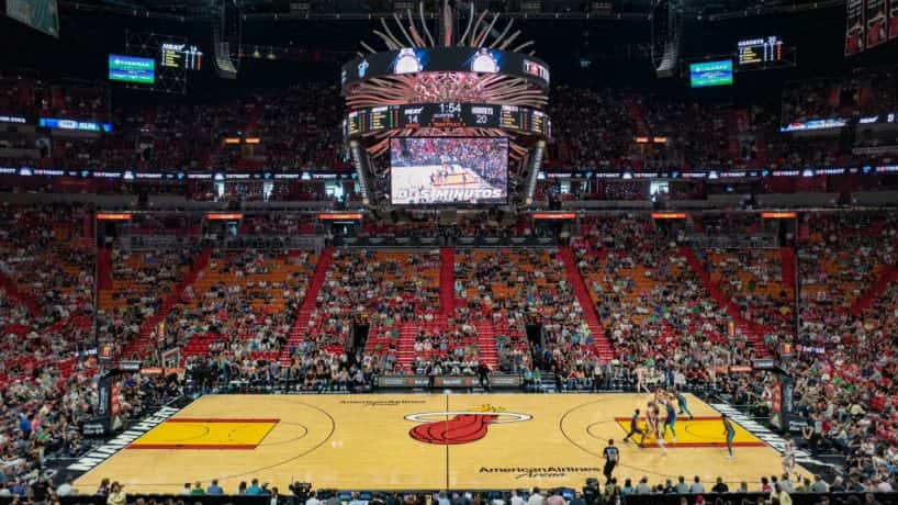 A porn site bids big on naming rights for the Miami Heat stadium