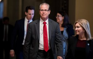 Senator Mike Braun - Photo by Getty Images and Bill Clark