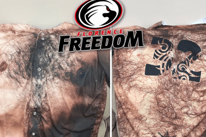 Dad Bod Baseball Jerseys for Florence Freedom
