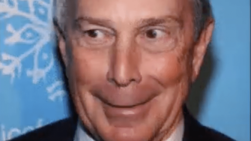 Screenshot of Mike Bloomberg from video So God Made A Farmer: The Mike Bloomberg Edition