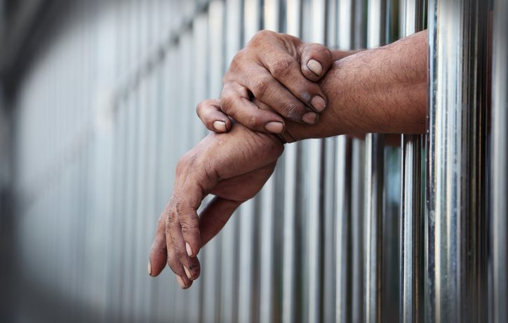 Picture a man in jail PHOTO: Thinkstock/Sackhorn38