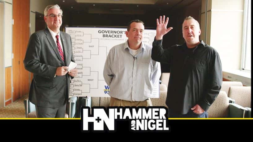 hammer and nigel and governor holcomb