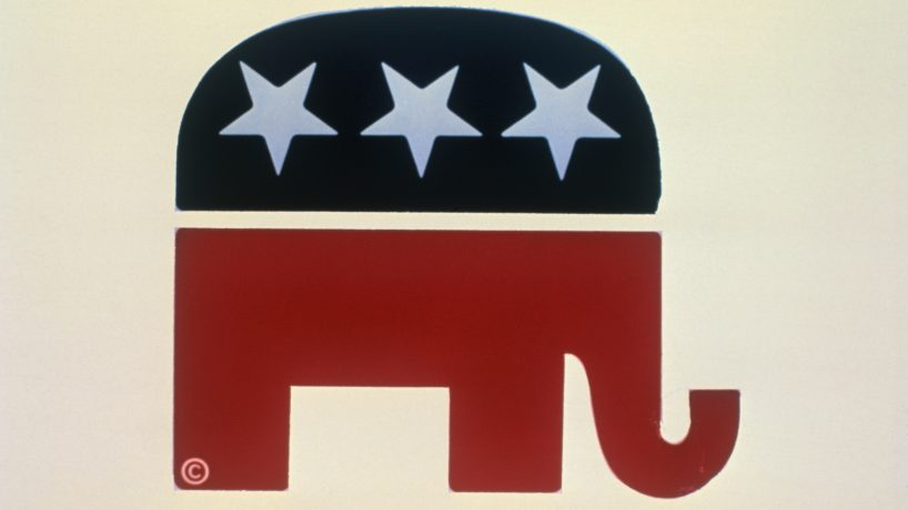 Republican elephant logo