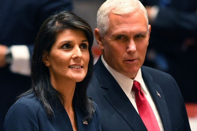Nikki Haley on Twitter: Enough With The False Rumors Over Mike ...